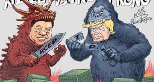分裂騒動中国とアメリカ
