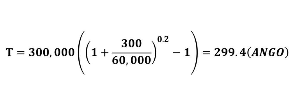 BANCOR仮想通貨の計算式